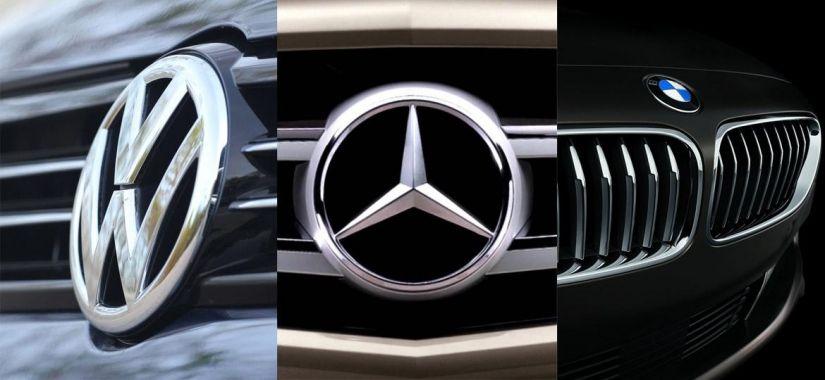 Comissão Europeia aponta possível cartel entre BMW, Daimler e Volkswagen