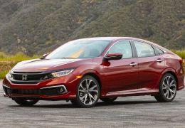 Honda mostra Civic renovado na versão Touring