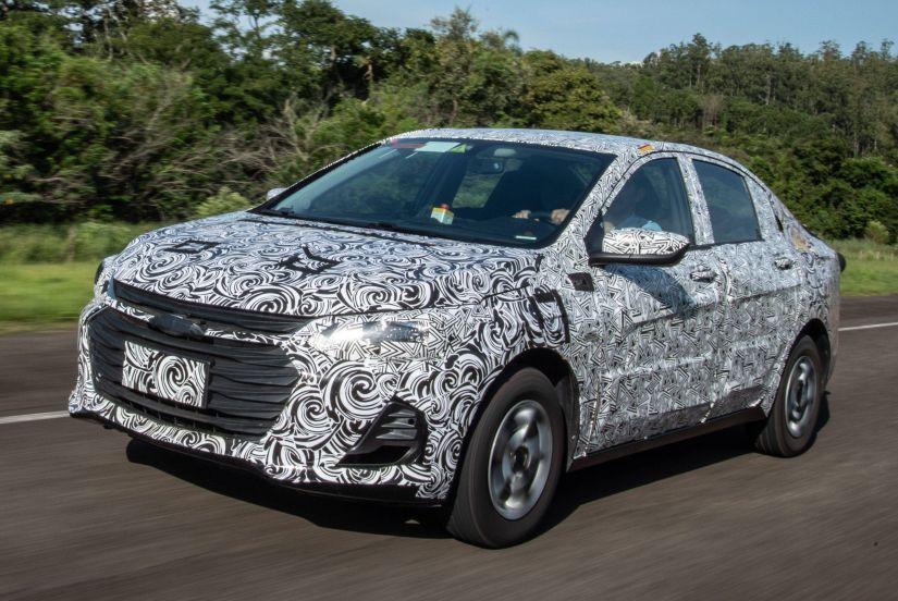 Novo Chevrolet Prisma terá motor inédito turbo