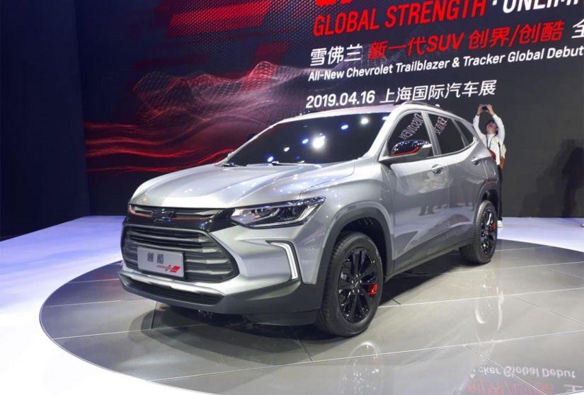 Chevrolet apresenta novo Tracker no Salão de Xangai