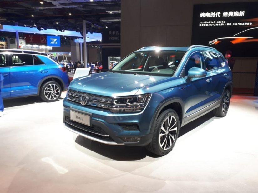 Volkswagen apresenta SUV Tarek na China