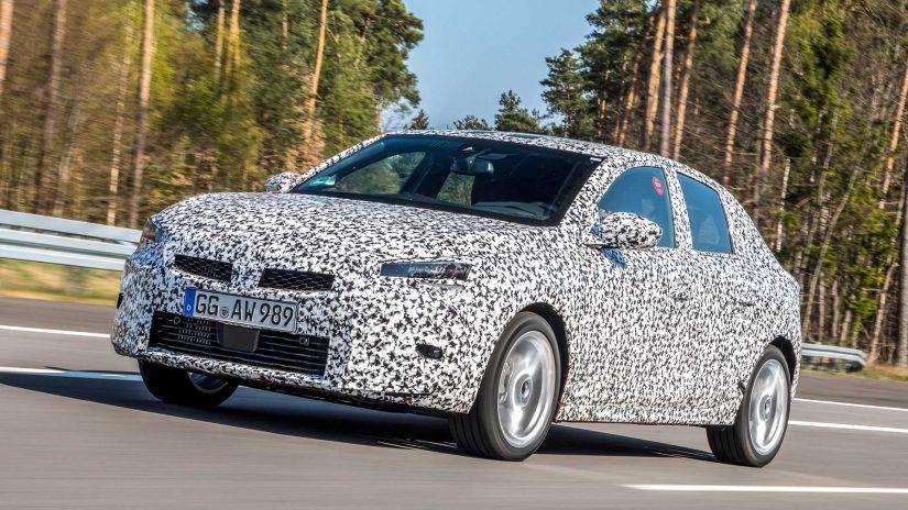 Opel divulga primeiras imagens oficiais do novo Corsa