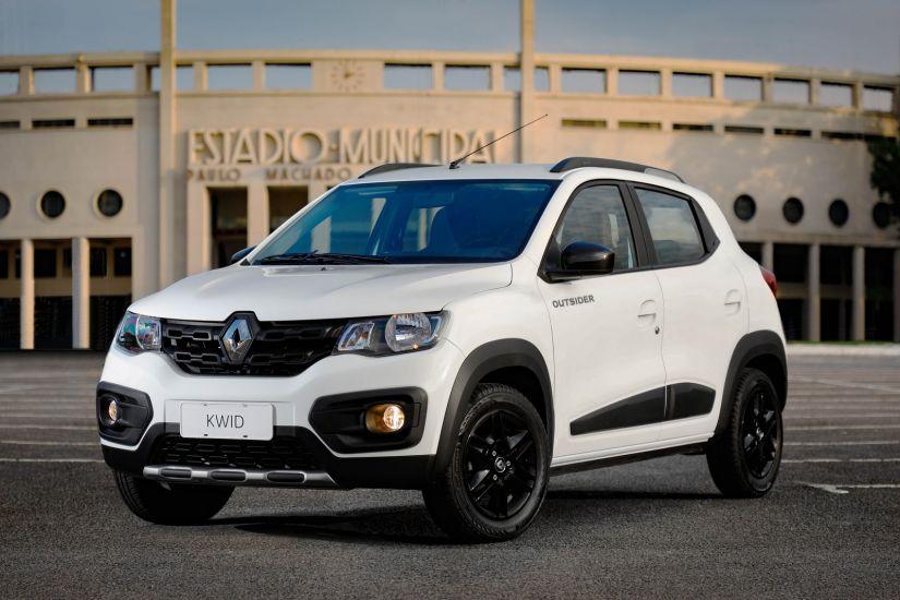 Renault Kwid Outsider chega com novo visual e preços a partir de R$ 43.990