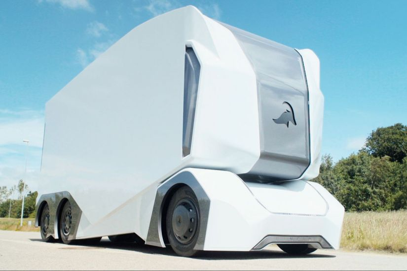 Suécia conta com caminhão autônomo que faz entregas
