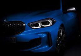 BMW revela teaser do novo Série 1 2020