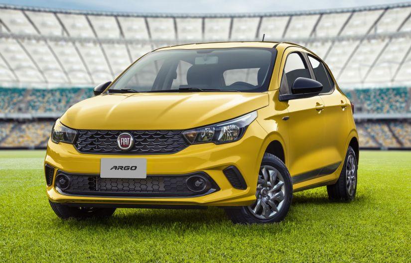 Fiat lança edição especial Argo Seleção