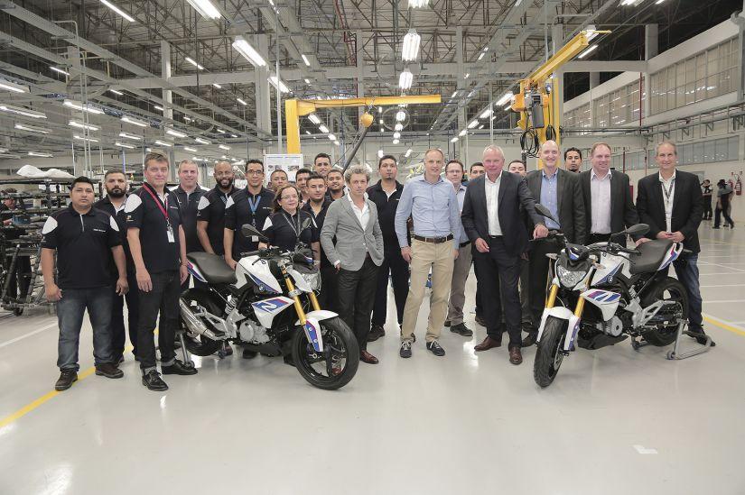 BMW anuncia investimento de R$ 9 milhões em sua fábrica de motos no Brasil
