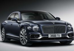 Bentley esbanja luxo e riqueza no novo Flying Spur 2020