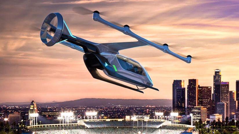 Embraer apresenta carro voador em parceria com Uber