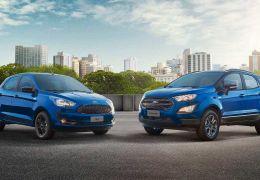 Ford anuncia séries especiais de 100 anos da marca para Ka e EcoSport