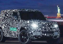 Novo Land Rover Defender deve chegar ao Brasil ano que vem