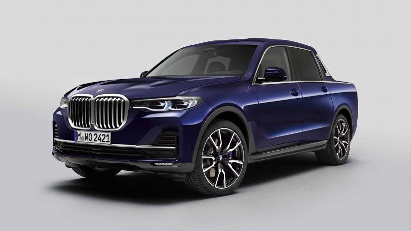 BMW apresenta sua primeira picape