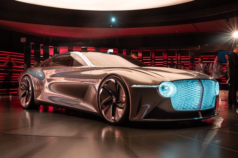Bentley lança carro autônomo conceito com aromas especiais e assento de vinícola