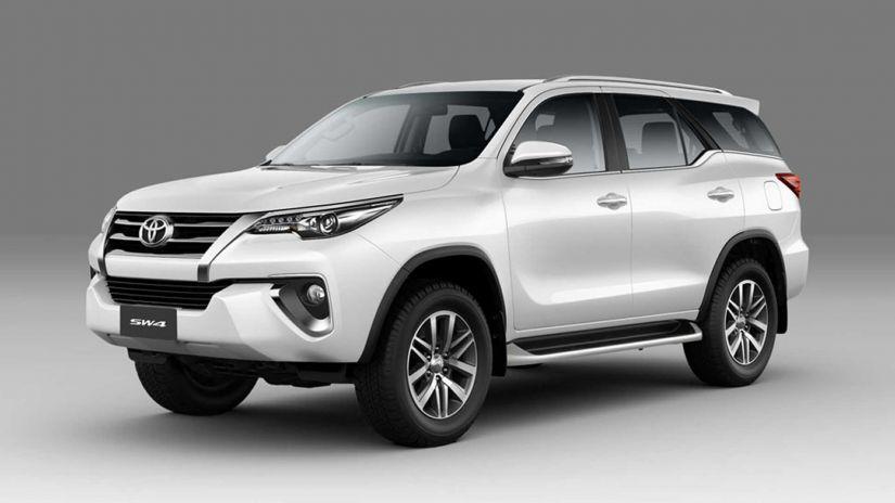 Toyota lança SW4 2020 com sete airbags e mais conectividade