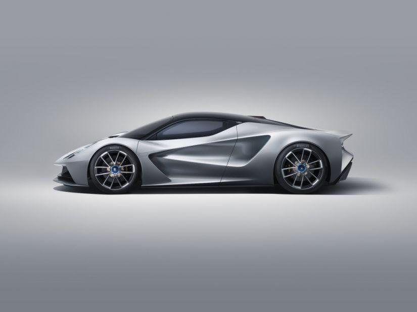 Lotus anuncia seu primeiro hipercarro 100% elétrico