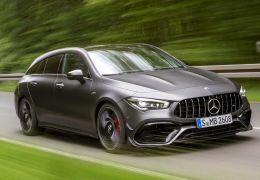 Mercedes-AMG lança perua esportiva CLA 45 Shooting Brake
