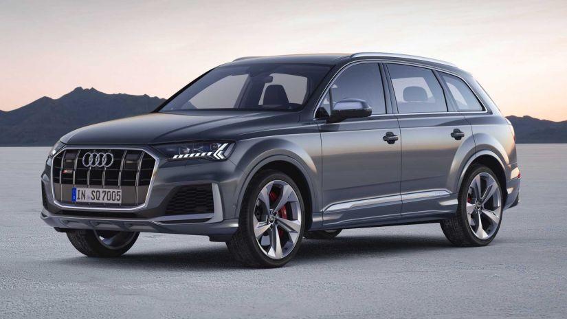 Audi SQ7 ganha visual renovado e motor V8 a diesel