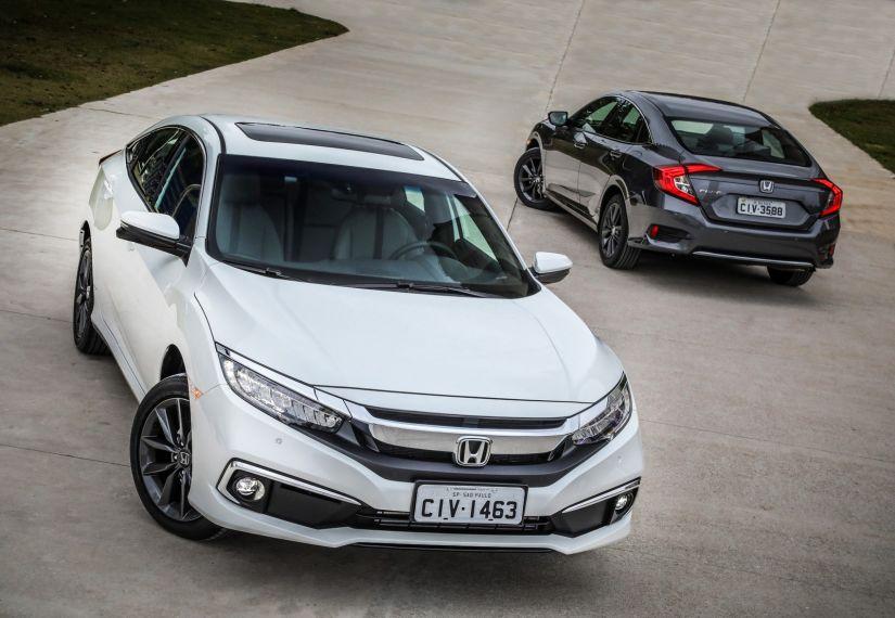 Honda Civic 2020 ganha novo visual e preços partem de R$ 97.900