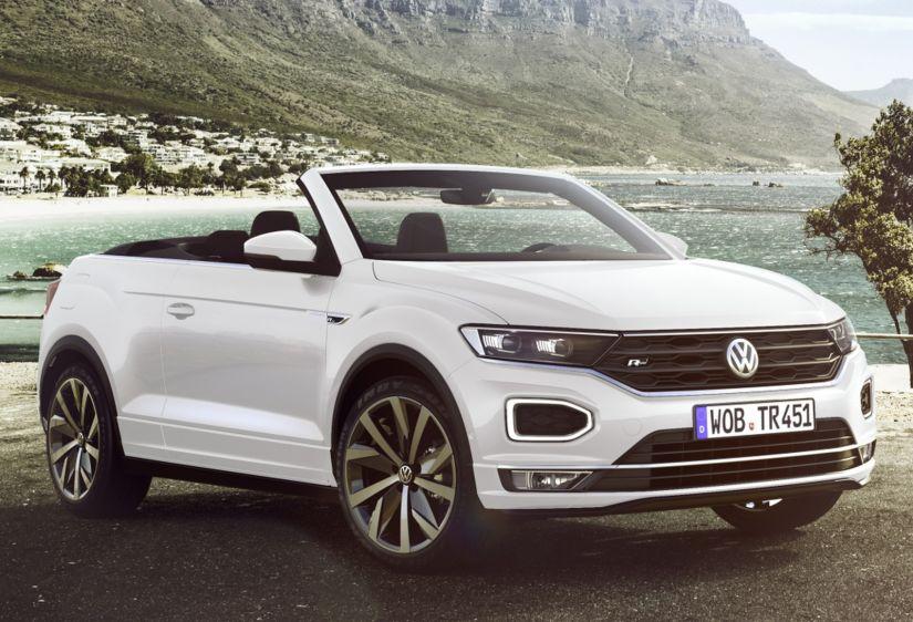 Volkswagen apresenta SUV conversível T-Roc Cabriolet