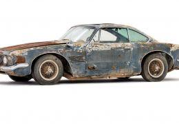 Maserati enferrujada é leiloada por R$ 2,2 milhões