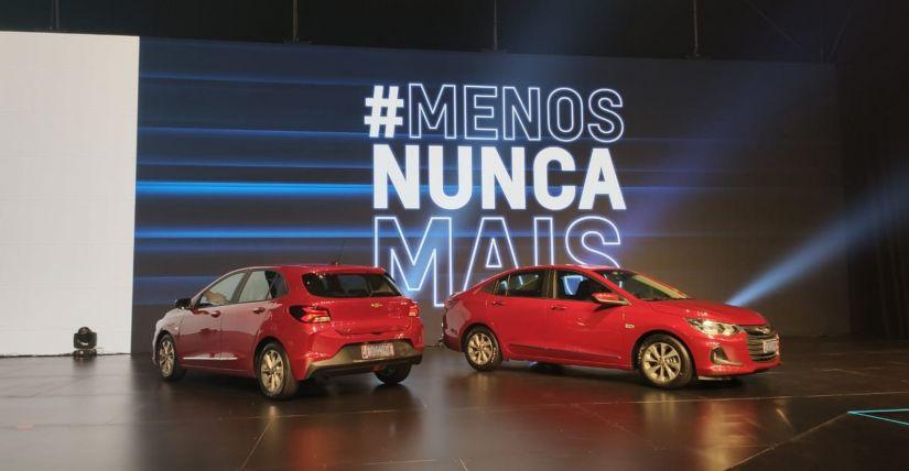 Chevrolet apresenta nova geração do Onix