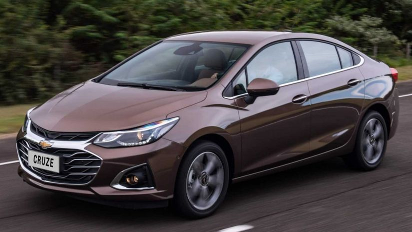 Começam as vendas do novo Chevrolet Cruze 2020