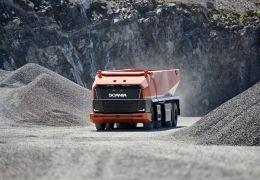 Scania apresenta conceito de caminhão autônomo sem cabine de motorista
