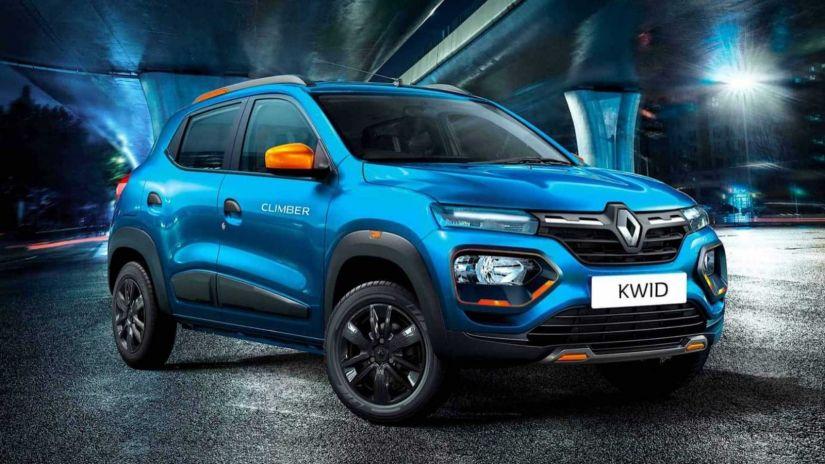 Renault apresenta versão reestilizada do Kwid na Índia