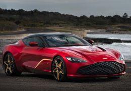 Aston Martin apresenta DBS GT Zagato com 760 cavalos e acabamento de ouro