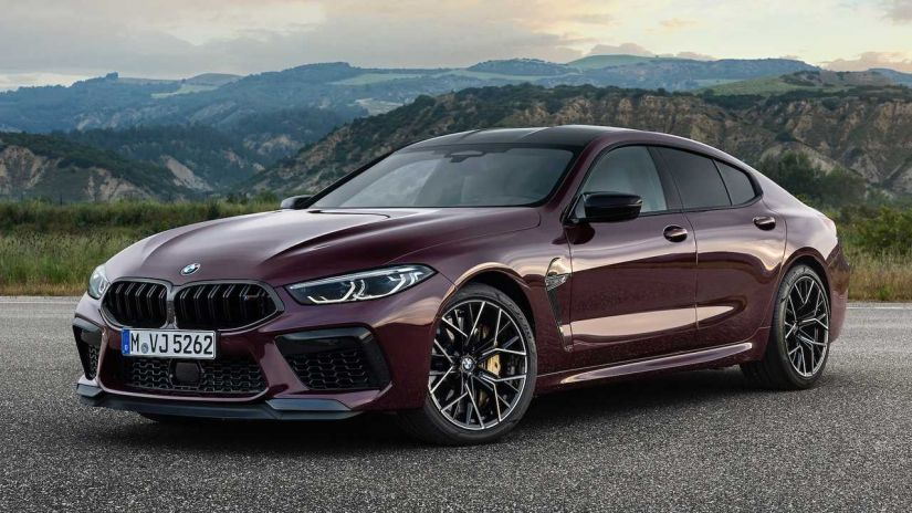 BMW apresenta M8 Gran Coupe com até 625 cv