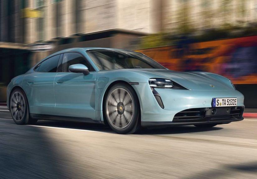 Porsche lança versão menos potente e com maior autonomia do Taycan