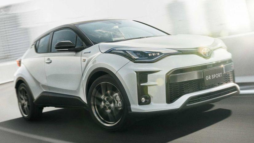 Toyota C-HR aparece com visual diferente e agressivo em projeto especial