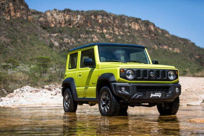 Suzuki confirma novo Jimmy Sierra no Brasil partindo de R$ 103.990
