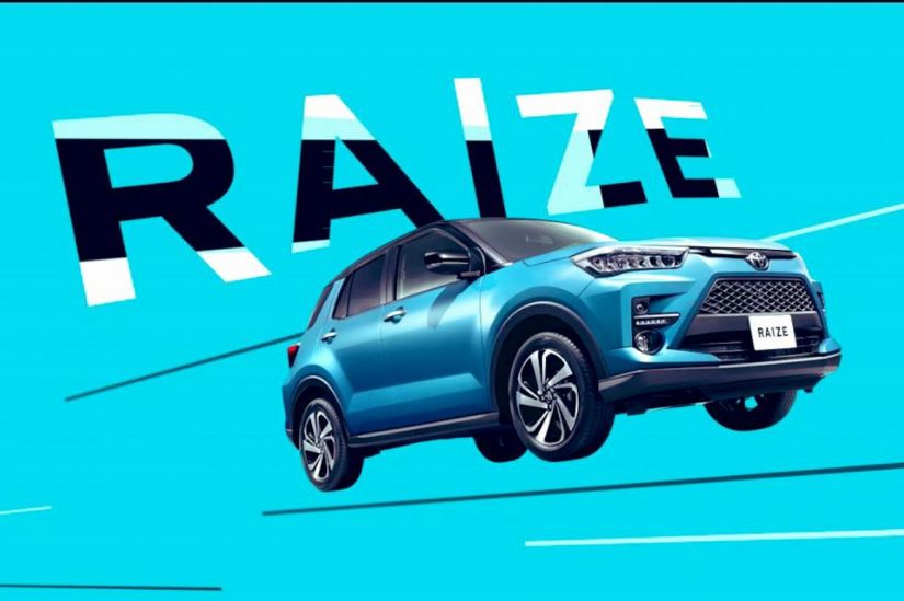 Vazam as fotos do novo mini RAV4 nacional da Toyota