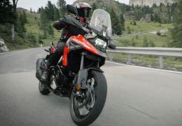 Suzuki revela detalhes da nova geração da moto V-Strom