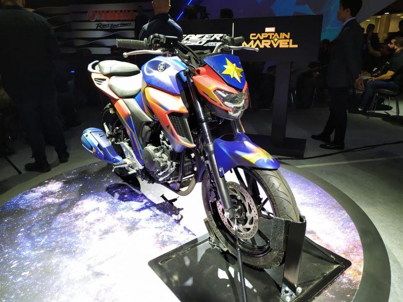 Yamaha anuncia parceria com Marvel e motos inspiradas em heróis