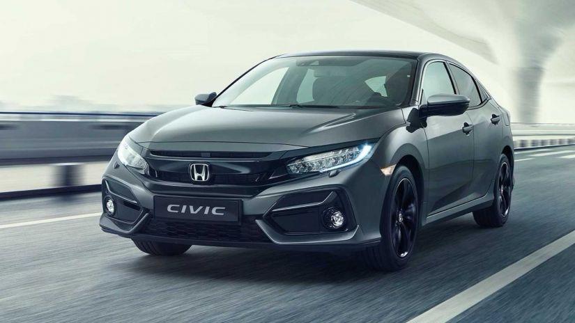 Honda apresenta novo visual para o Civic Hatchback 2020