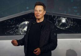 """Elon Musk explica """"fiasco"""" na apresentação do Cybertruck"""