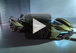 Lamborghini apresenta novo carro-conceito futurista