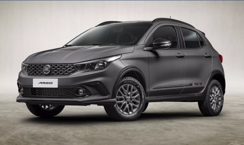 Fiat anuncia Argo Trekking com motor 1.8 e câmbio automático
