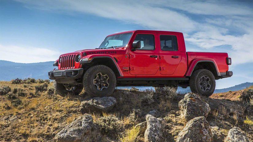 Jeep vai lançar picape Gladiator no Brasil a partir do 2º semestre de 2020