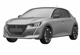 Peugeot registra novo 208 no Brasil