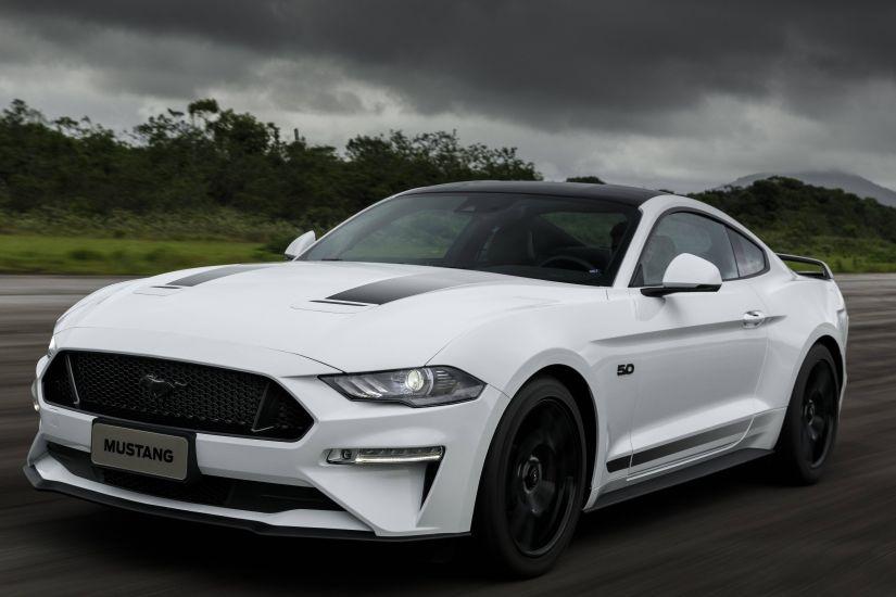 Ford anuncia edição limitada Mustang Black Shadow para o Brasil em 2020