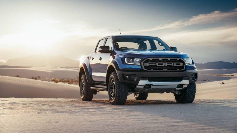 Ford Ranger Raptor terá motor V8 do Mustang