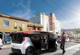 GM divulga projeto conceito de veículo autônomo compartilhável