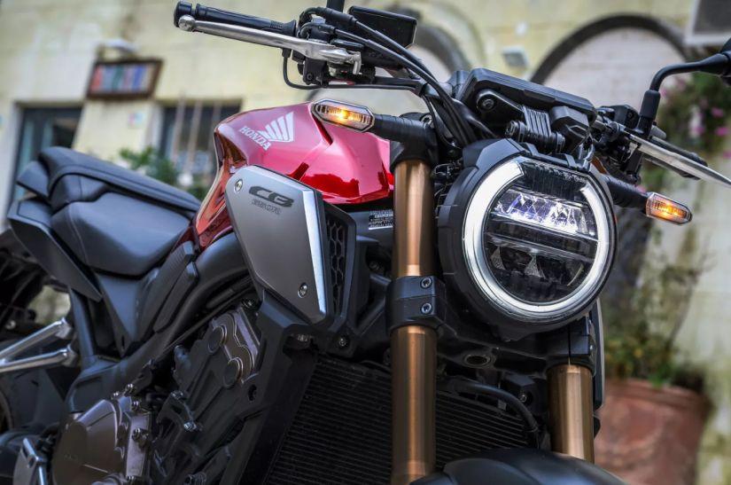 Honda coloca nova CB 650R em pré-venda