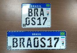 Placas do Mercosul começam a valer oficialmente em todo o Brasil