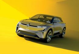 """Renault apresenta modelo futurista """"transformer"""" Morphoz"""