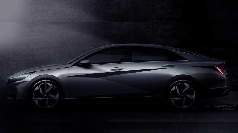 Hyundai apresenta teaser do novo Elantra 2021