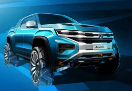 Volkswagen mostra esboço da nova Amarok